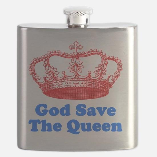 GSTQredblue Flask