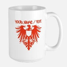 Red Polish Eagle Mugs