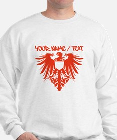 Red Polish Eagle Sweatshirt