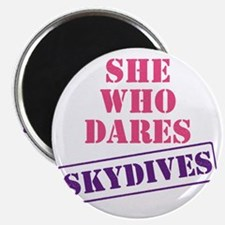 she_who_dares Magnet