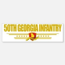 50th Georgia Infantry (Flag 10) p Bumper Bumper Sticker