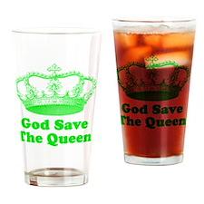 GSTQgreengreen Drinking Glass