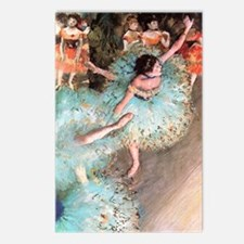 degas dancers Postcards (Package of 8)