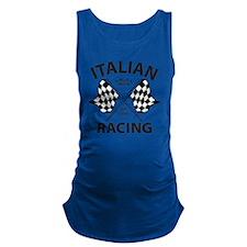 Vintage Italian Racing Maternity Tank Top