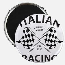 Vintage Italian Racing Magnet