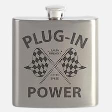 Vintage Hybrid Car Plug In Power Flask