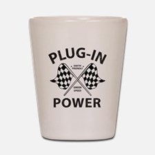 Vintage Hybrid Car Plug In Power Shot Glass