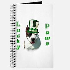 Am Staff Lucky Paws Journal