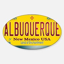 newmexico_licenseplate_albuquerque Decal