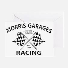 Vintage Morris Garages MG British Ra Greeting Card