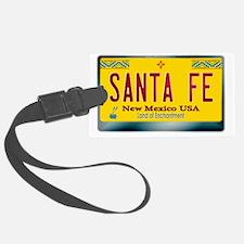 newmexico_licenseplate_santafe Luggage Tag