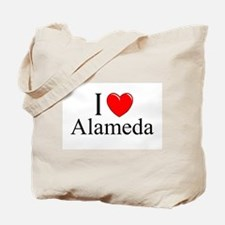 """I Love Alameda"" Tote Bag"
