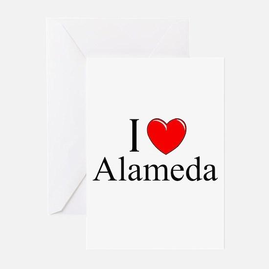 """I Love Alameda"" Greeting Cards (Pk of 10)"