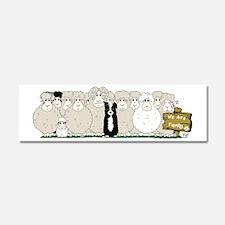 Les Moutons-Final-1 Car Magnet 10 x 3