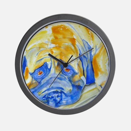 Learn to Relax Wall Clock