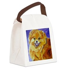 Happy Happy Joy Joy Canvas Lunch Bag