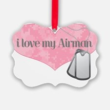 Heart airman Ornament