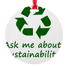 Sustainability Ornament