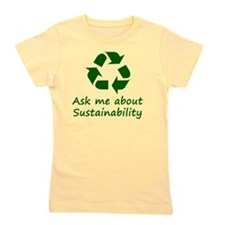 Sustainability Girl's Tee