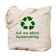 Sustainability Tote Bag