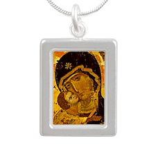 virgin_vladimirSQ Silver Portrait Necklace