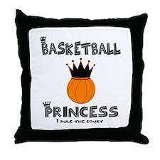 "BBallChick ""Princess"" Throw Pillow"