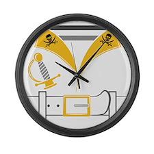 Pirate Large Wall Clock