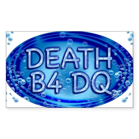 DEATHDQ Sticker (Rectangle)
