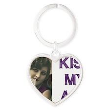 Kiss My Ash Heart Keychain
