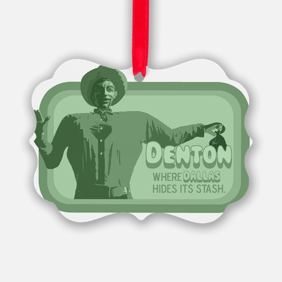 dentonstash copy Ornament