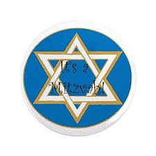 """mitzvah 3.5"""" Button"""