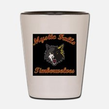 MFTimberwolves Pillow Shot Glass