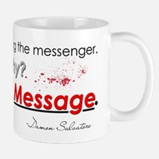 Sending a Message Hat Small Small Mug