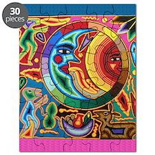 Mexican_String_Art_Image_Sun_Moon_Stadium_B Puzzle