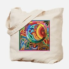 Mexican_String_Art_Image_Sun_Moon_Stadium Tote Bag