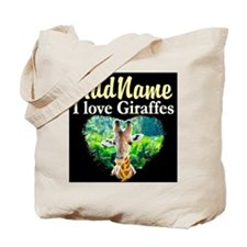 GIRAFFES RULE Tote Bag