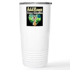 GIRAFFES RULE Thermos Mug
