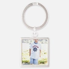 Tay - center panel 24x32 Square Keychain