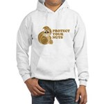 Protect Your Nuts Hooded Sweatshirt