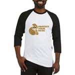 Protect Your Nuts Baseball Jersey