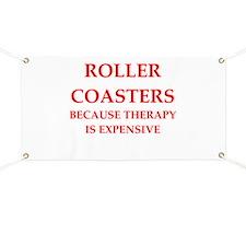 roller coaster Banner
