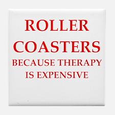 Roller Coaster Tile Coaster
