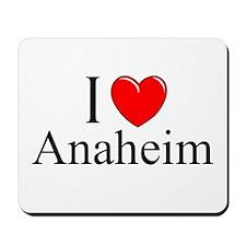 """""""I Love Anaheim"""" Mousepad"""