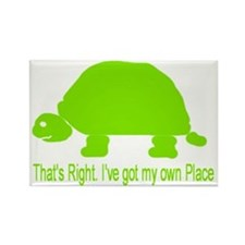turt home Rectangle Magnet