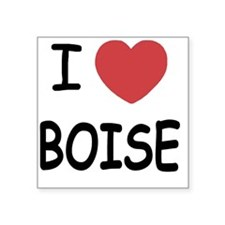 "BOISE Square Sticker 3"" x 3"""