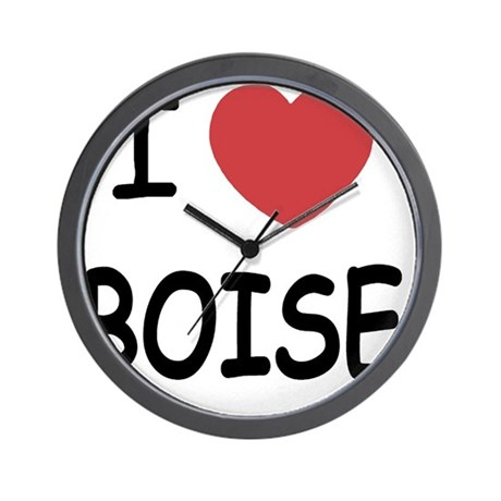 BOISE Wall Clock