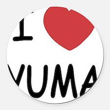 YUMA Round Car Magnet