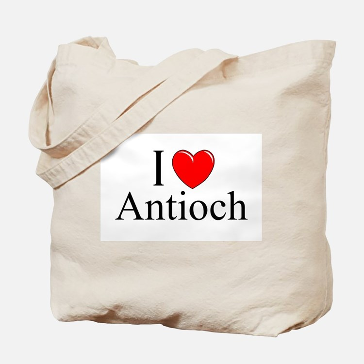"""I Love Antioch"" Tote Bag"