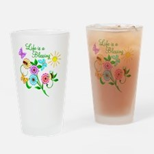 blessing Drinking Glass