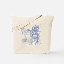 mech14drk Tote Bag
